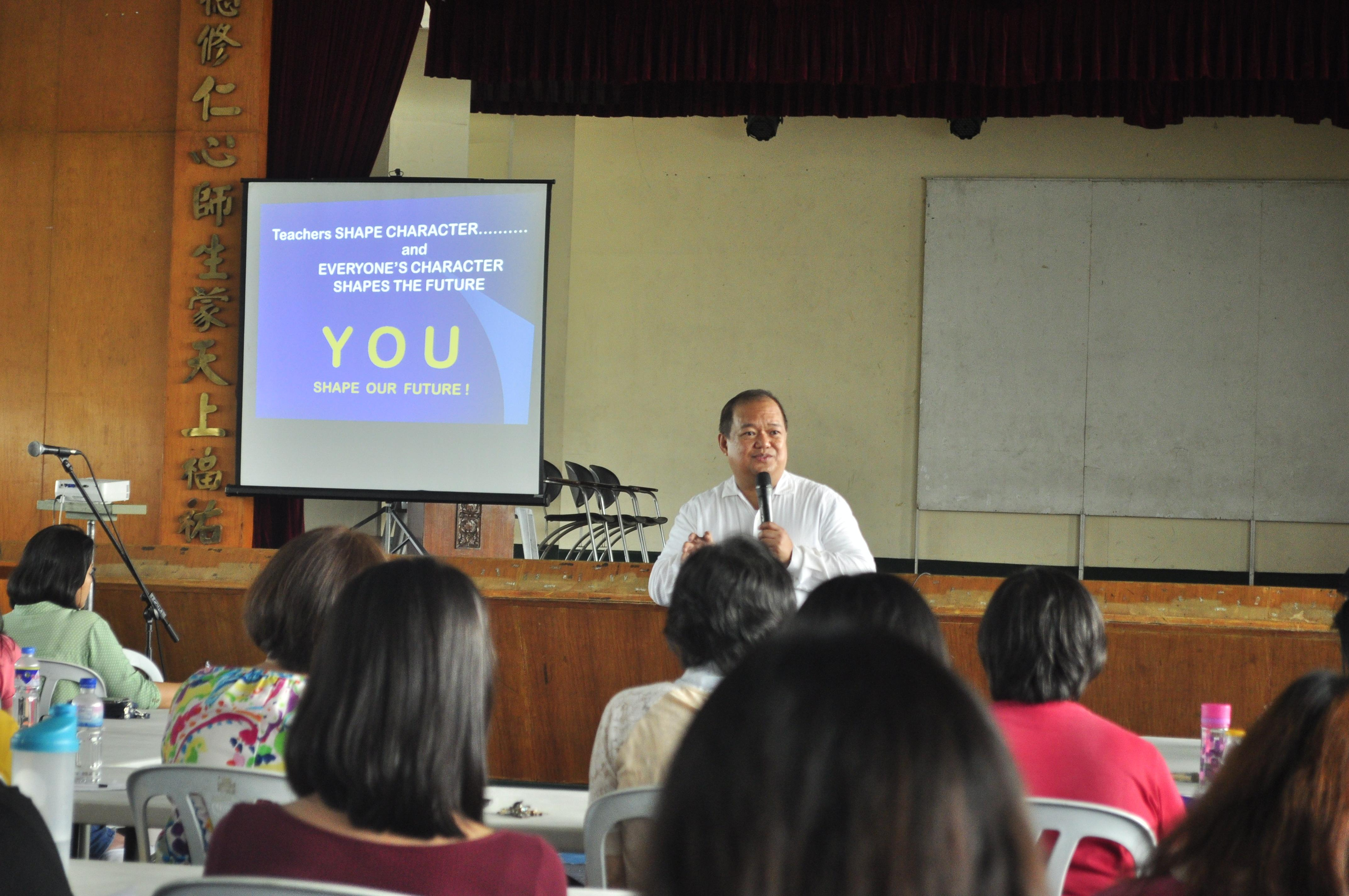 In-Service Training for Academic Year 2018-2019 | St  Peter